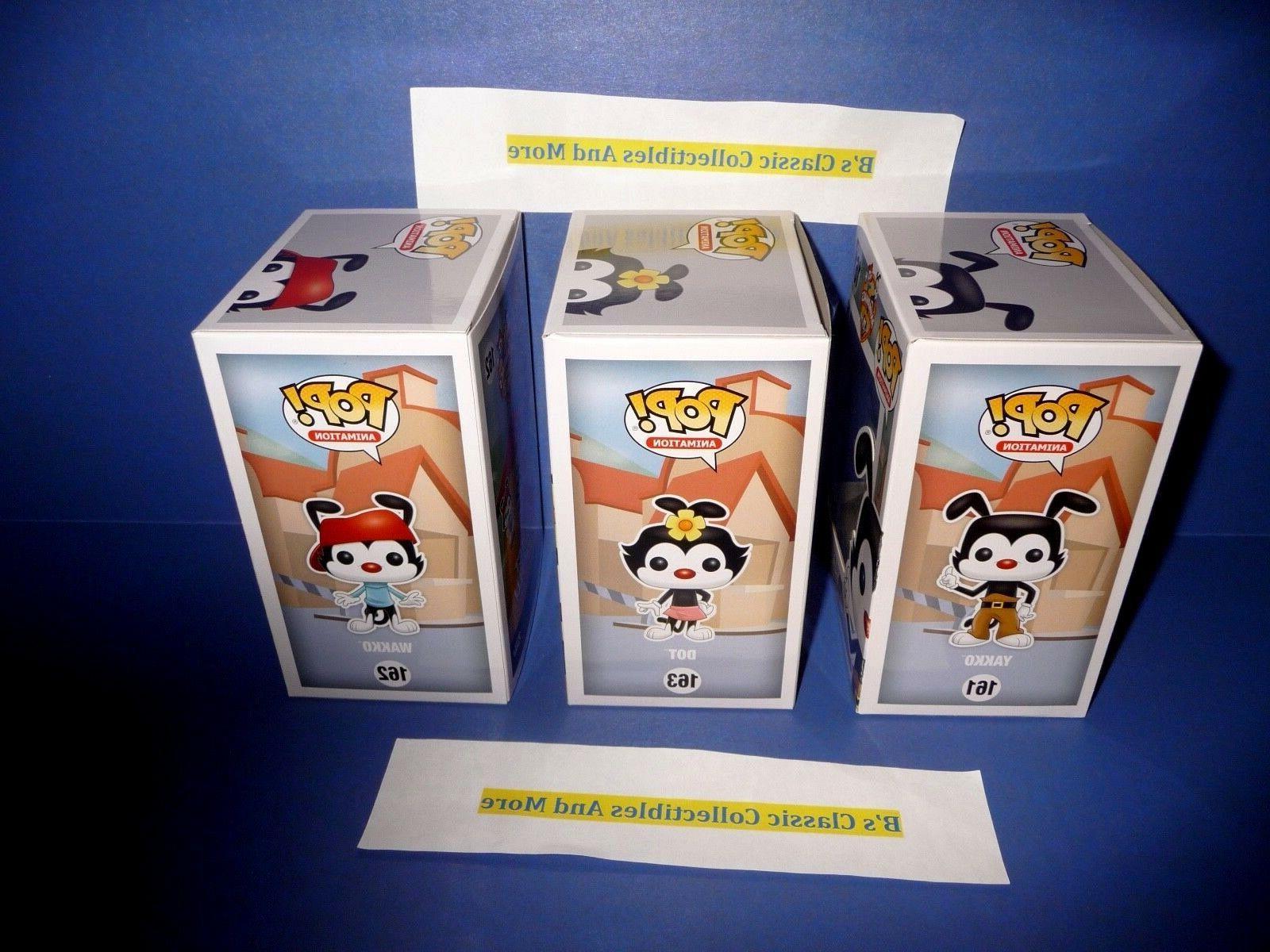 Animaniacs POP! Yakko, Wakko, POP 3 New!