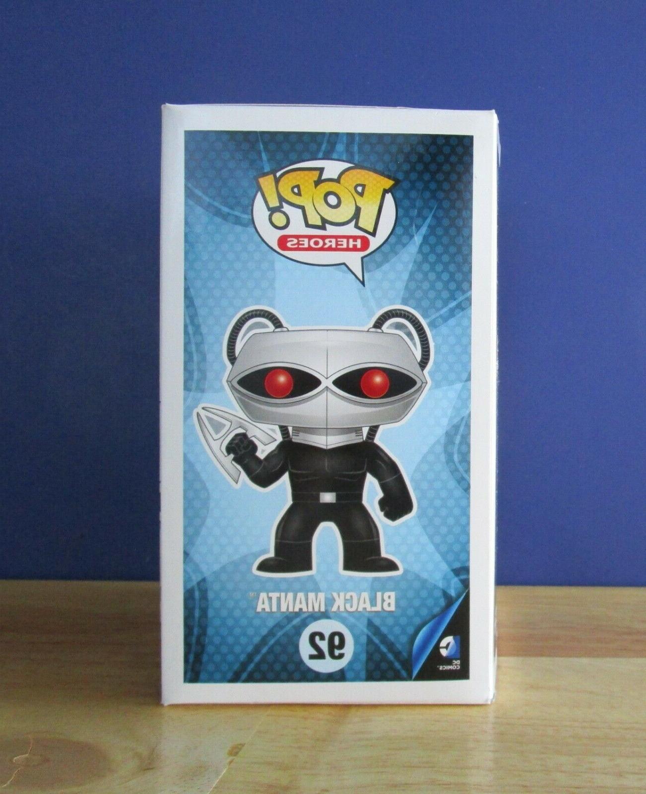 BLACK 92 Funko Pop! DC Comics Vinyl NEW BOX