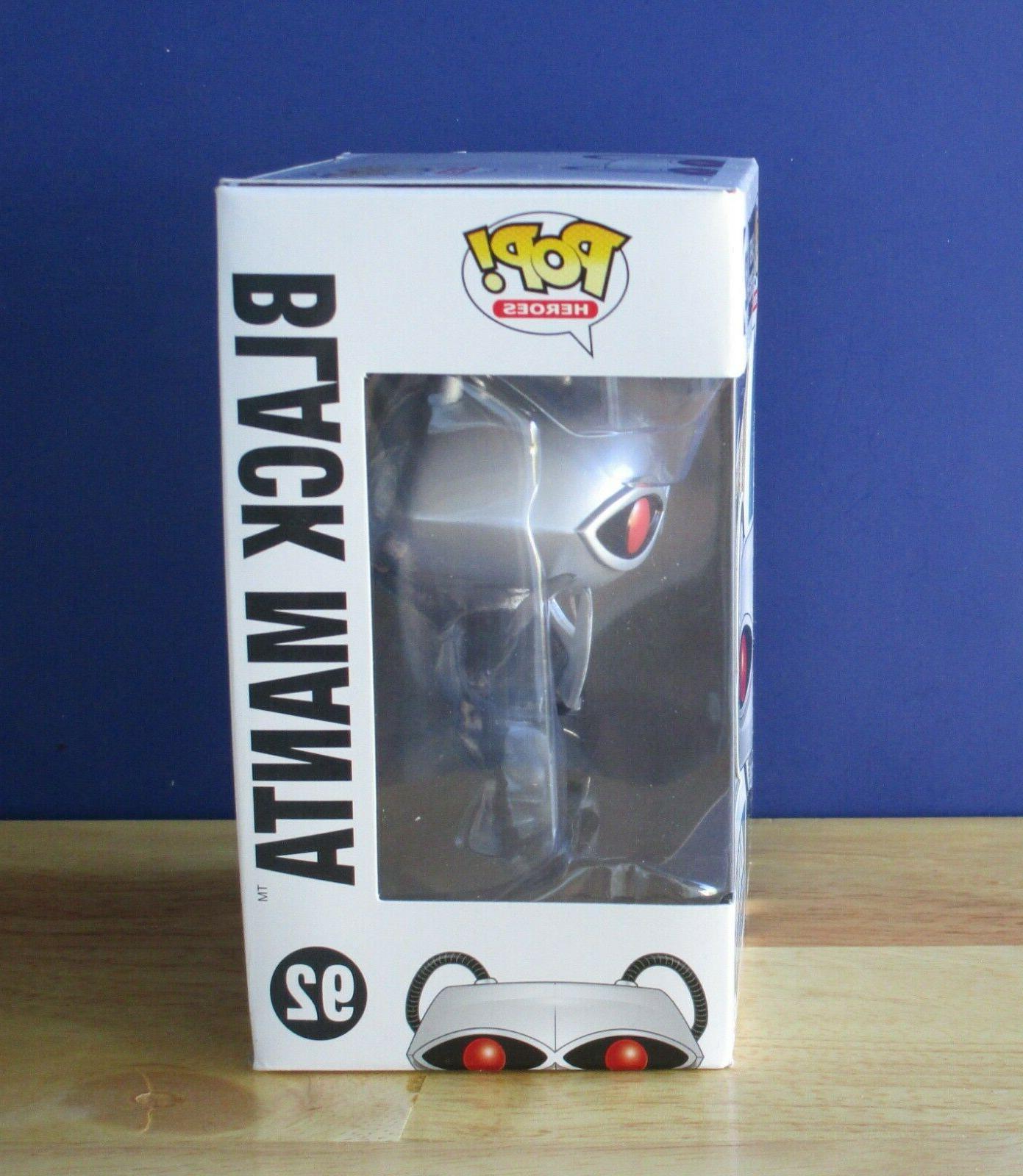 BLACK MANTA HEROES 92 Aquaman DC Vinyl Figure NEW IN