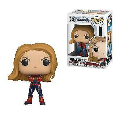 captain marvel pop vinyl figure marvel avengers