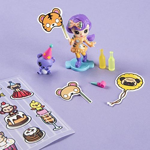 Party Popteenies Surprise Popper, Collectible Accessories, for Ages and Up