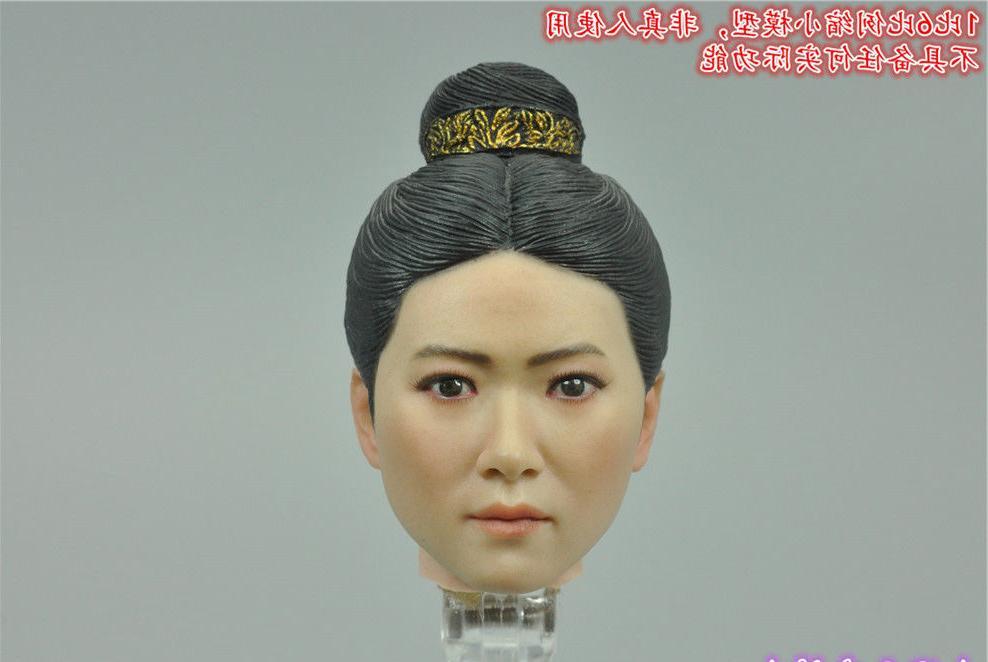 "Pop Toys EX020A Heroine 1/6 Mrs.Qi Headsculpt For 12"" Female"