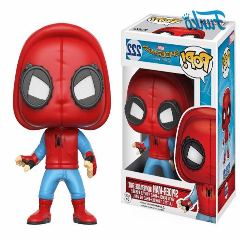 <font><b>Funko</b></font> SPIDER-MAN PETER PARKER VULTURE <font><b>Pop</b></font> Action <font><b>Figure</b></font> Collection Toys For Birthday Present