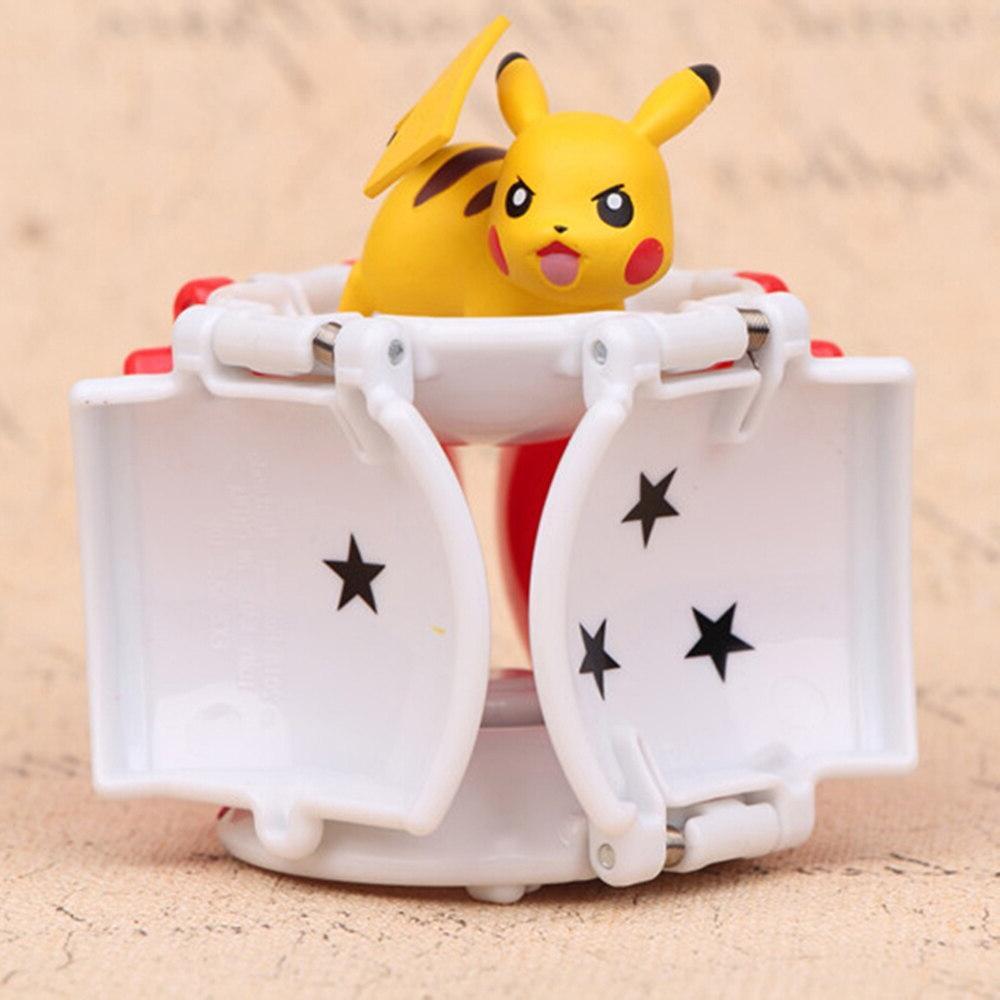 <font><b>Pikachu</b></font> Action <font><b>Pop</b></font>-up Pokemoner Deformation Poke Monster with doll Ball Ball Toy