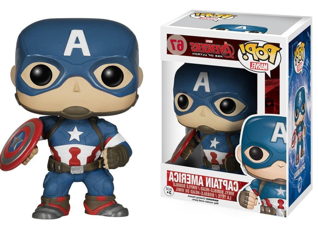 FUNKO Avengers Stan <font><b>Figure</b></font> PVC Collection Model Kids Birthday Gift