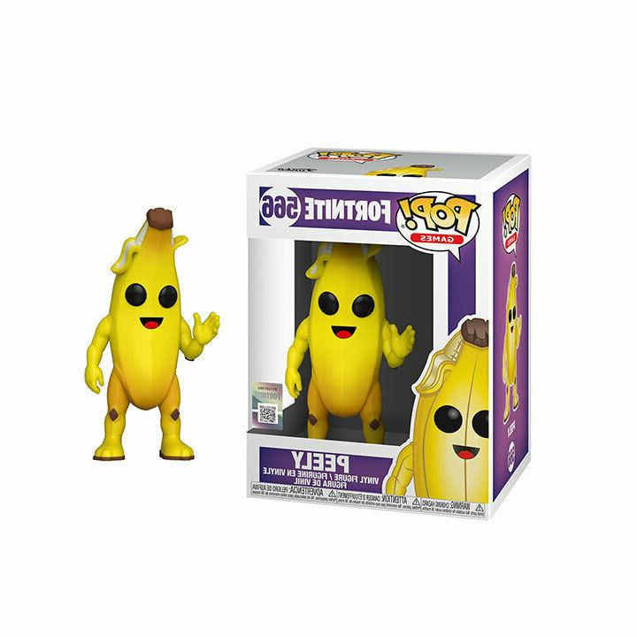 fortnite peely 4 5 licensed pop vinyl