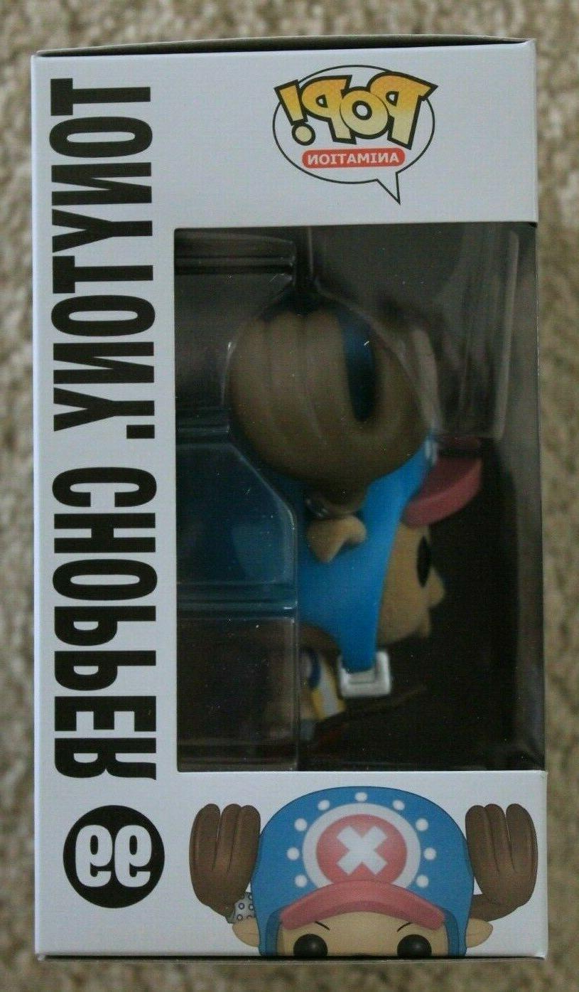 FUNKO PIECE TONY FLOCKED POP FIGURE #99