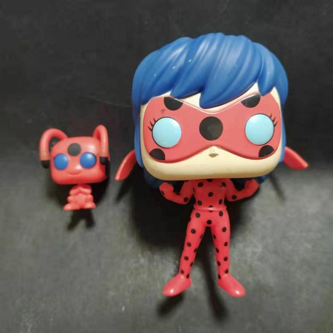 funko pop animation miraculous ladybug with tikki