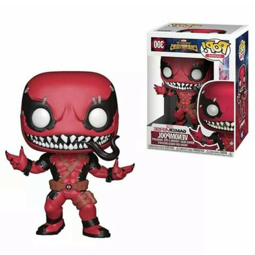 funko pop avengers deadpool venom vinyl action