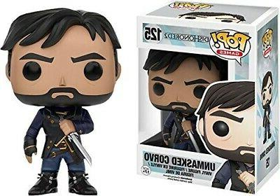 funko pop dishonoured 2 unmasked corvo vinyl