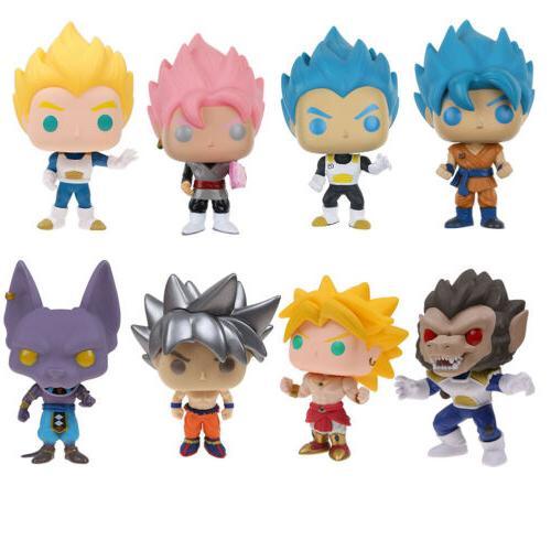 Funko Dragon Ball Z Goku Beerus Figure in Box