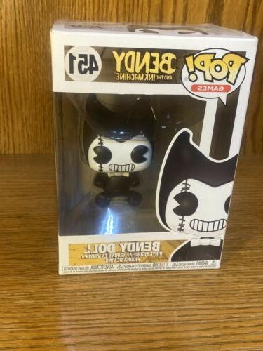funko pop games bendy and the ink