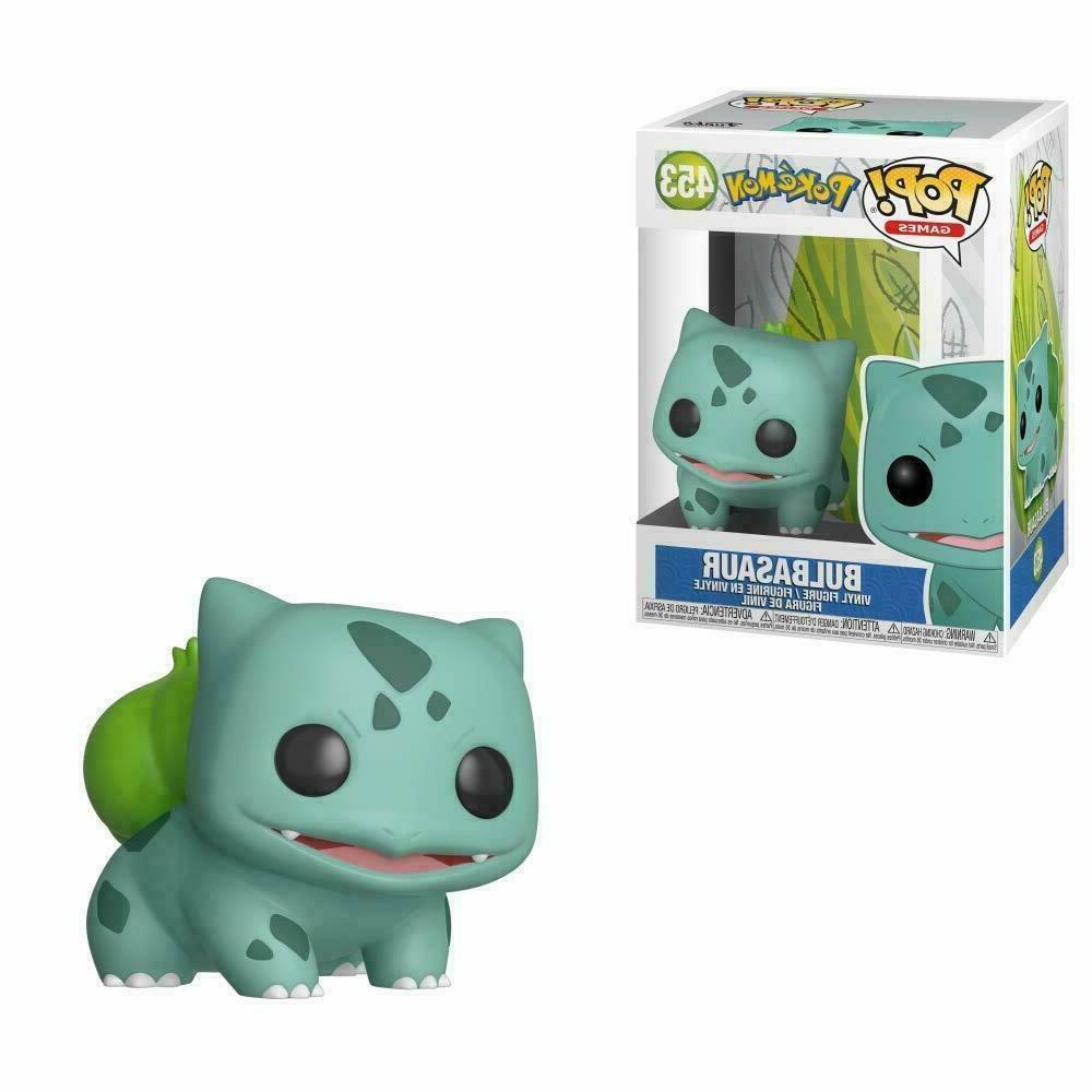 funko pop pokemon bulbasaur 453 vinyl figure