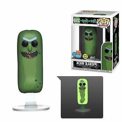 Funko Morty Pickle The-Dark Figure