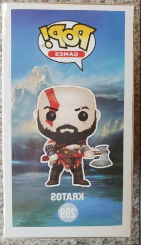 God War POP! Kratos with Axe Vinyl Figure #269 Playstation