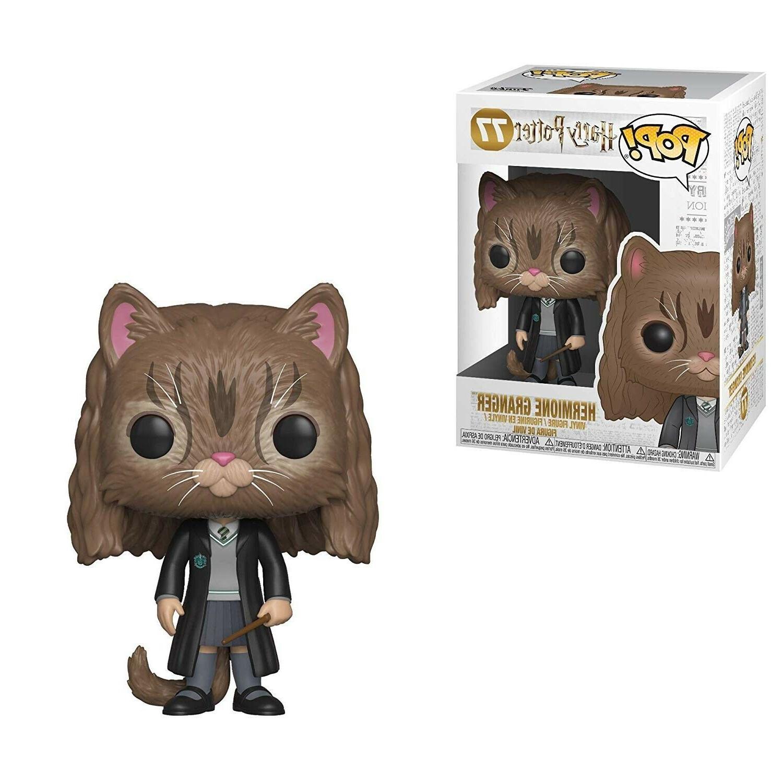 Funko Hermione as Cat Pop Vinyl Figure Harry Potter Collecti