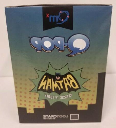 Loot Exclusive Q-Pop Batman Classic Series Figure Qmx
