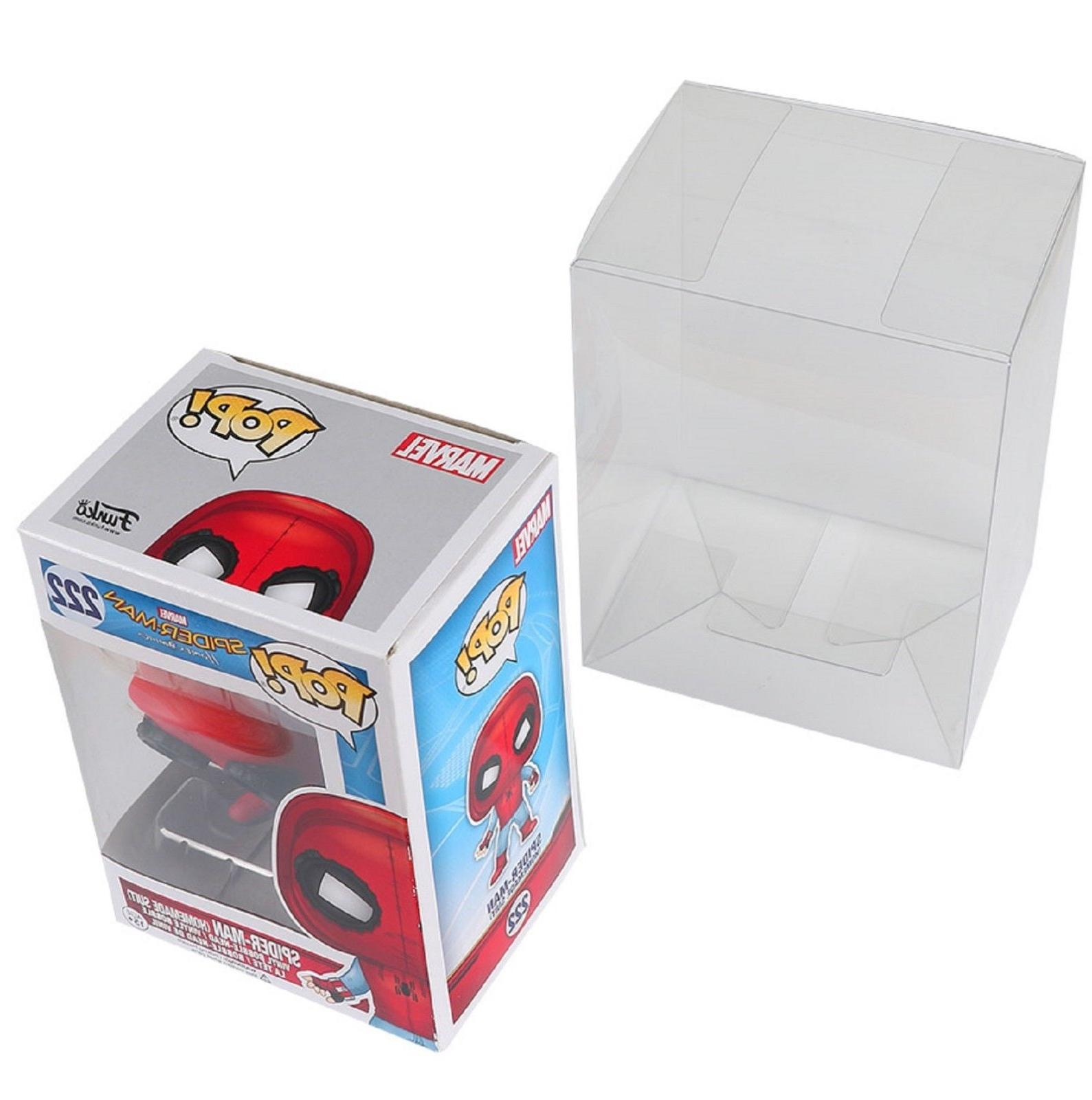 """Lot 100 Collectibles Funko Pop Protector 4"""" inch"""