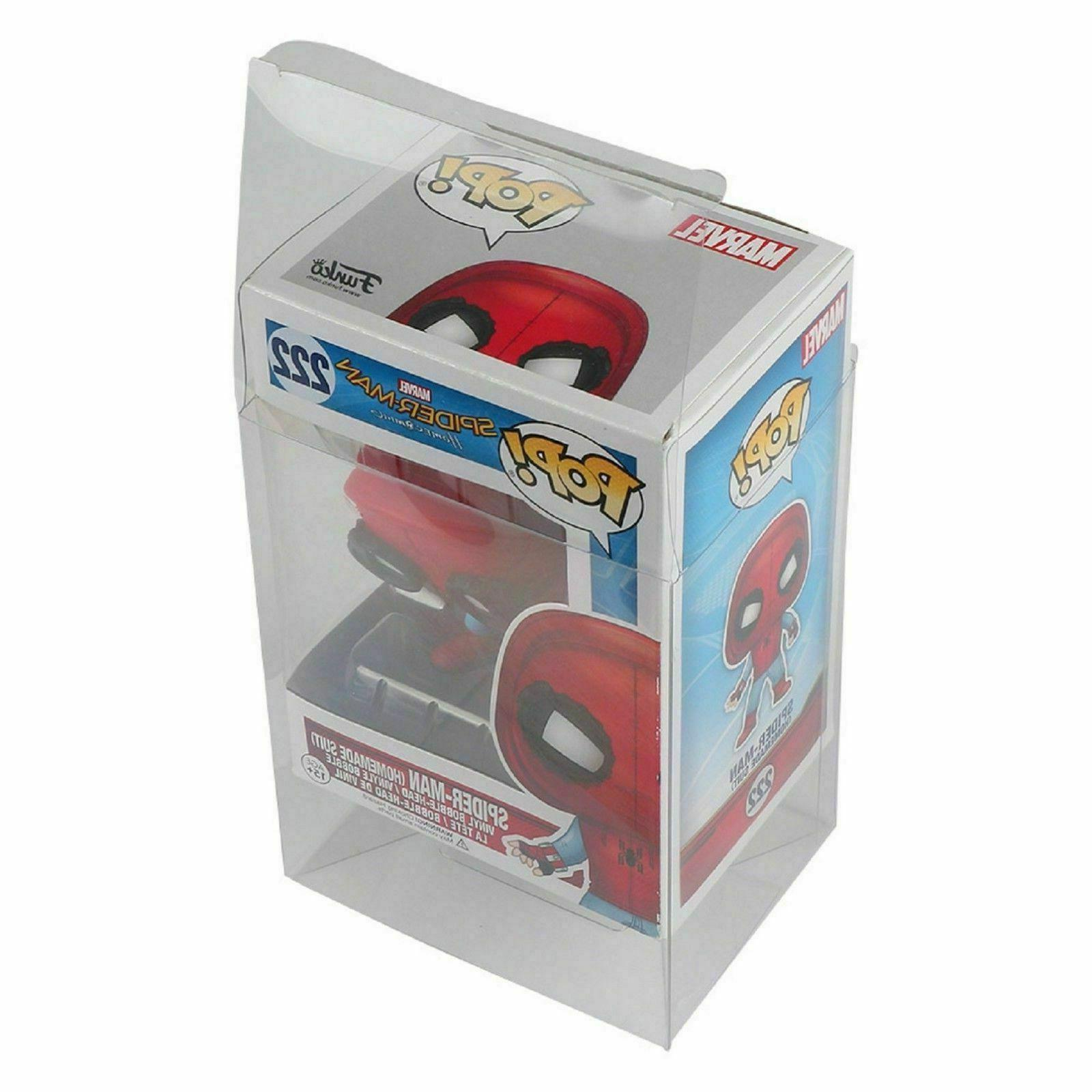"Lot 5 25 50 100 Funko Protector Case for 4"" inch Vinyl"