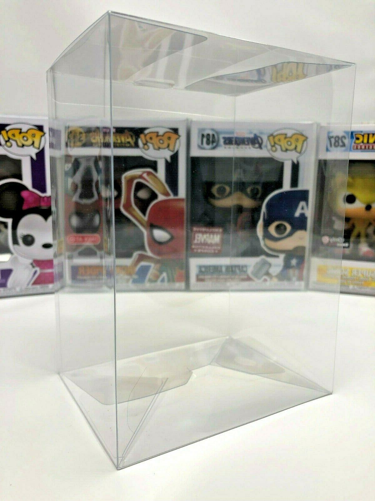 """Lot 5 30 100 Collectibles Funko Protector for 4"""" inch Vinyl"""