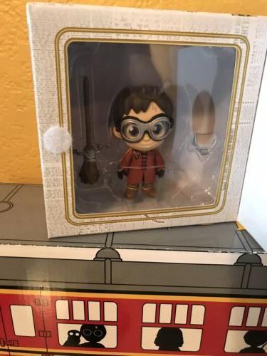 Lot Harry Potter Funko Mini , QMX Figure, Train