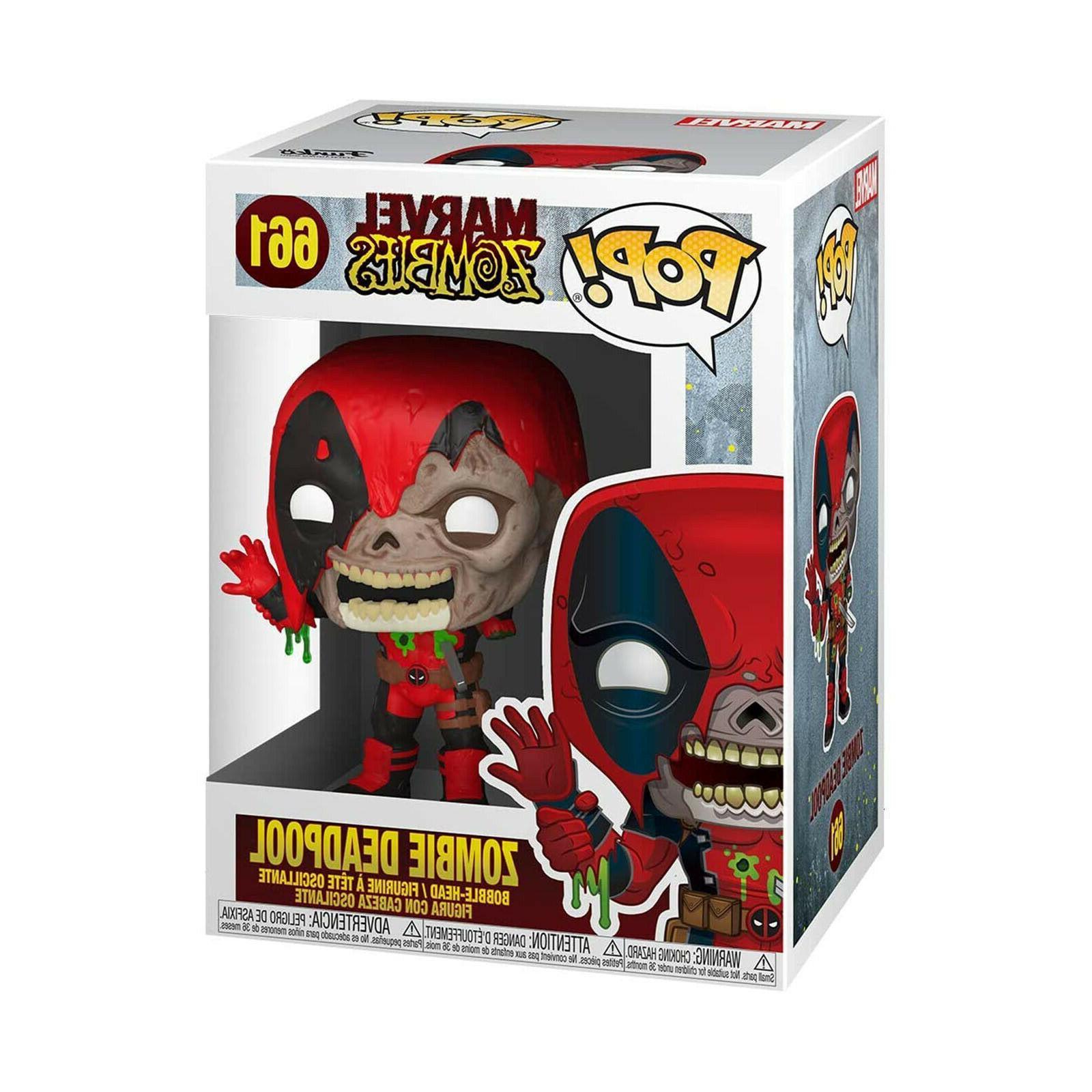 Funko Marvel Zombie Deadpool NEW