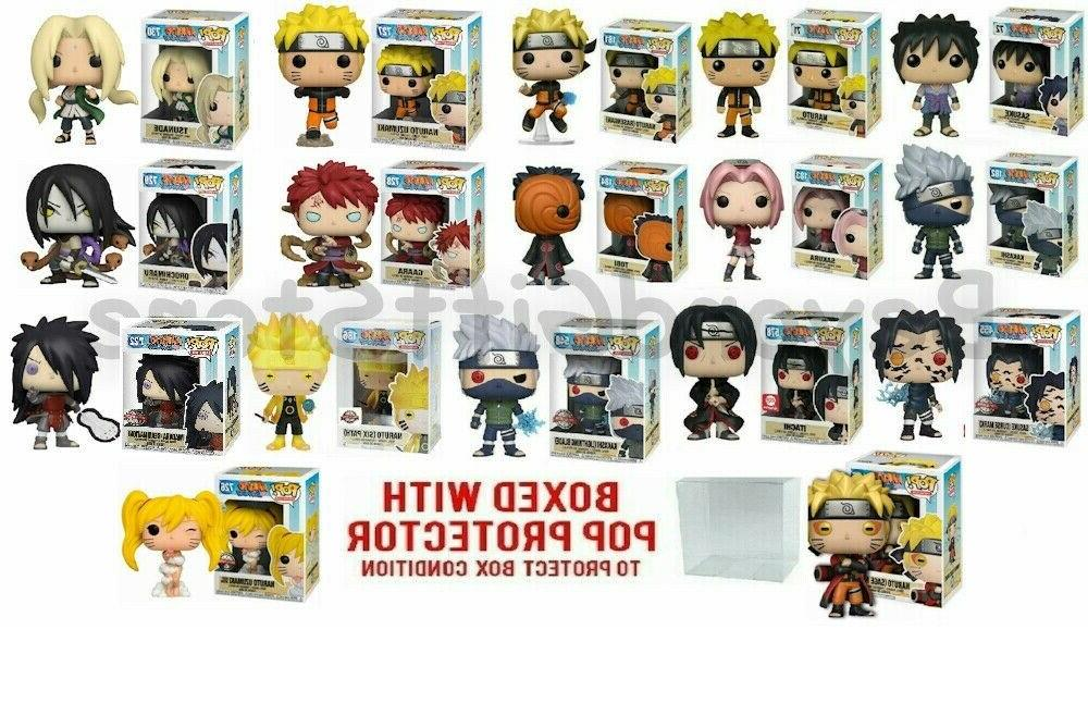 naruto pop 1st and 2nd wave series