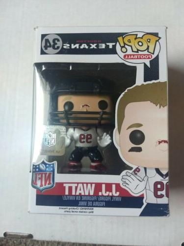 NFL Texans POP! J.J. Watt Figure