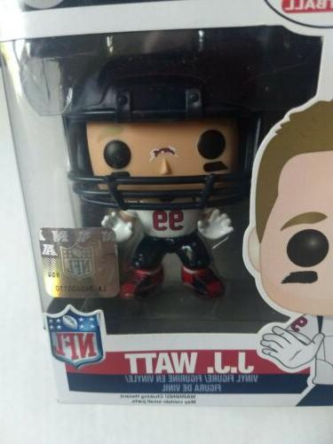 NFL Houston Texans POP! J.J. Figure #34 Rare!