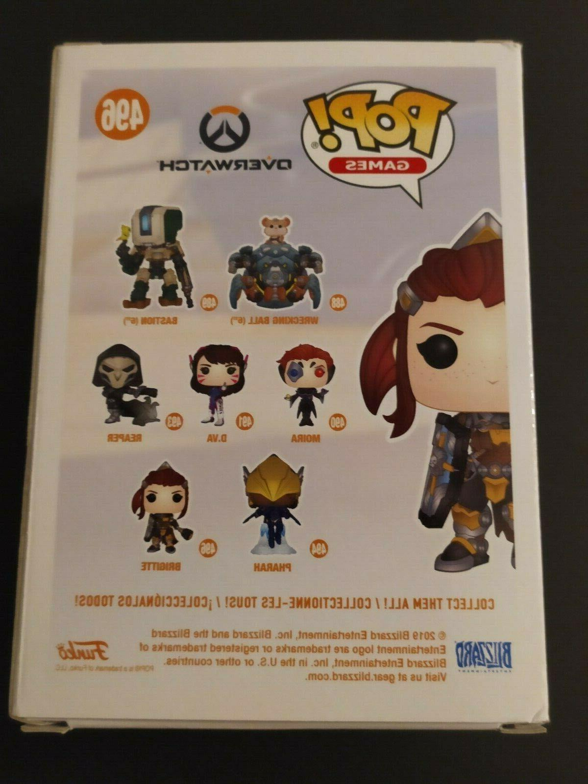 "Overwatch 4"" Vinyl Figure #496 Funko Blizzard Pop!"