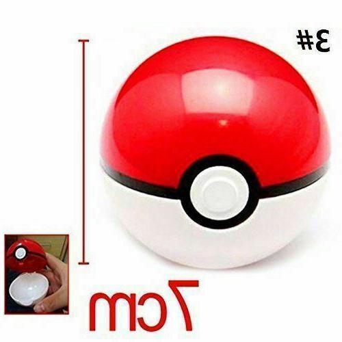 Pokemon Pokeball Pop-up 7cm Plastic BALL Toy Action Figure P