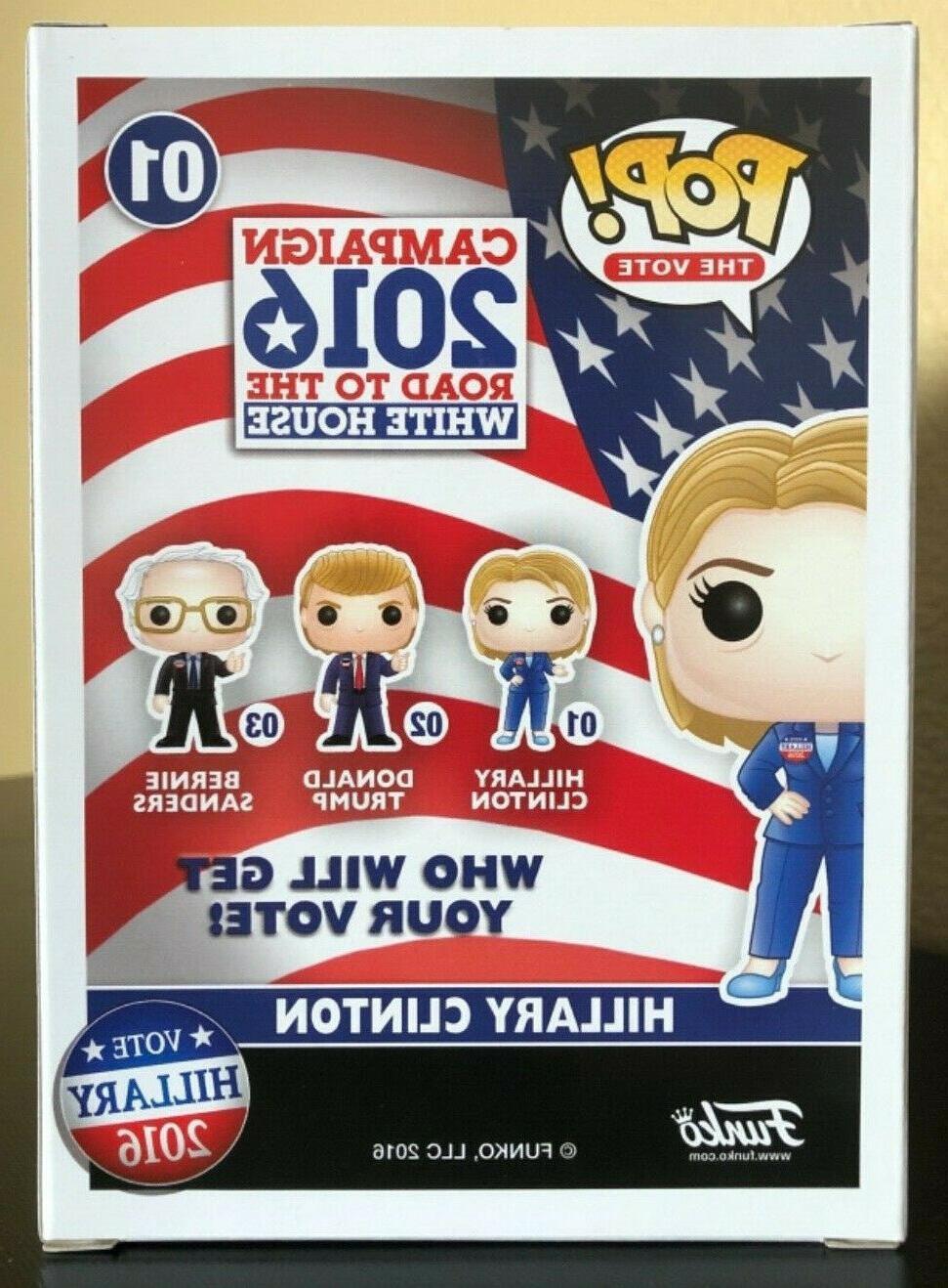 Funko Pop 2016 Campaign Hillary -- Shipping!