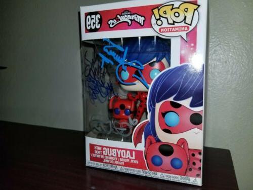 Pop! Animation: Ladybug Tikki Autograph
