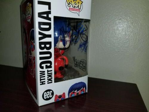 Pop! Animation: Ladybug with Signed Autograph