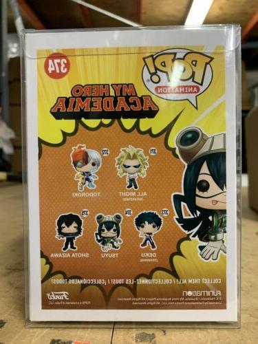 Funko Animation: Hero Vinyl w/ Protector