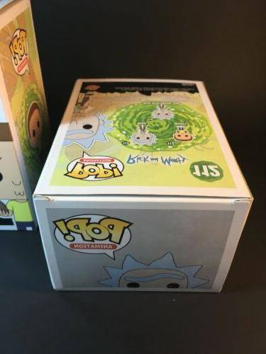 Funko Animation Rick and 113 Action Figure 2pc Lot