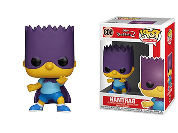 pop animation simpsons series 2 bart bartman