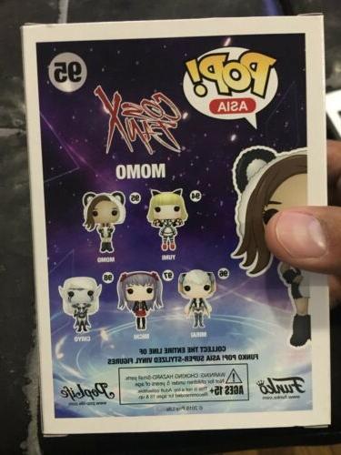 Funko Pop! Asia CosX Fan Momo Figure 2016 anime