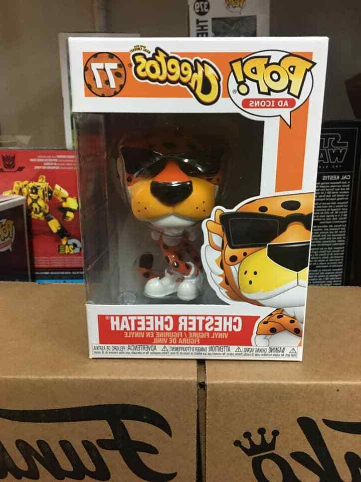 pop chester cheetah cheetos ad icons in