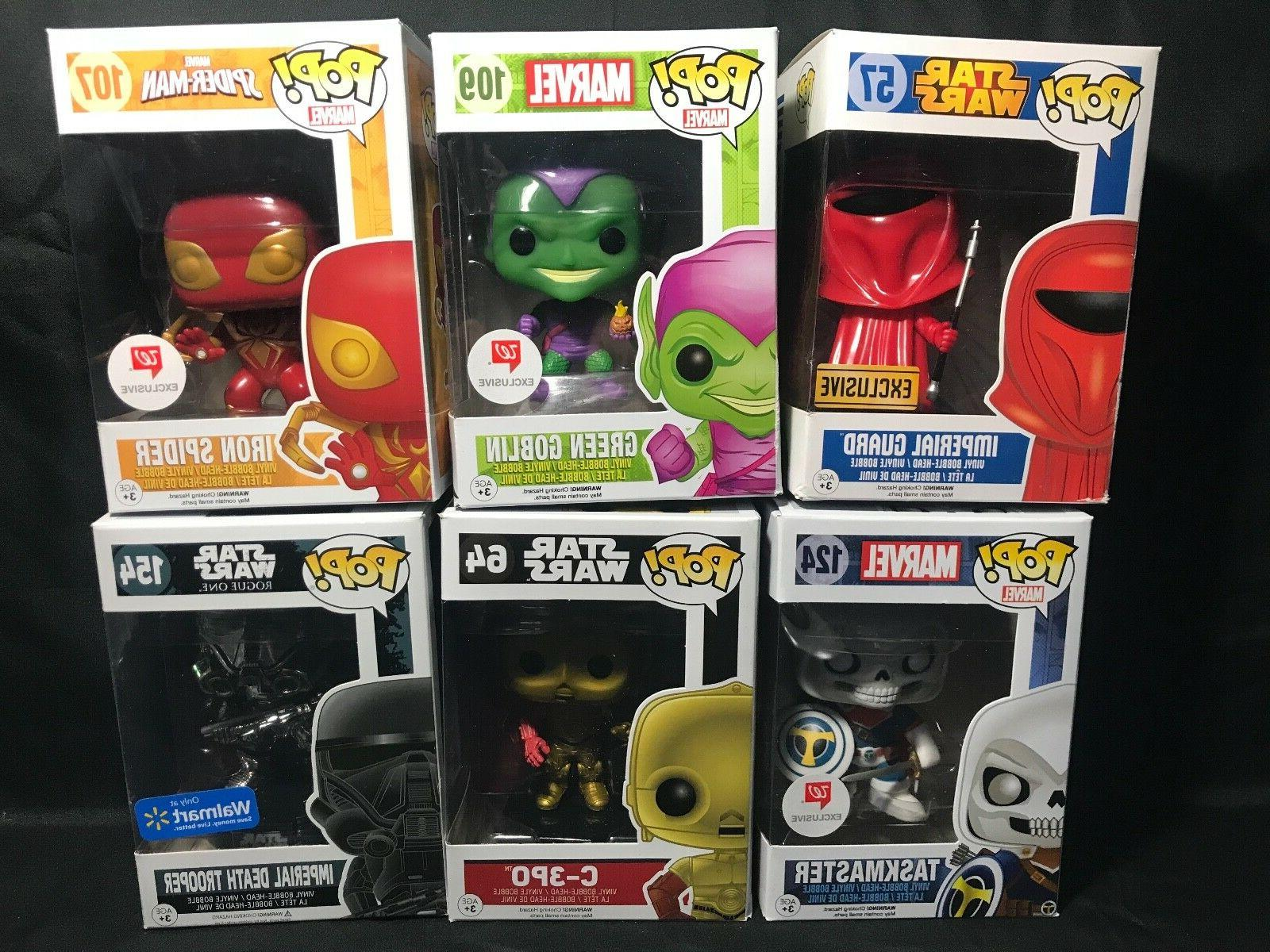Funko Pop Collection Action Figures - Pick Up Yours -