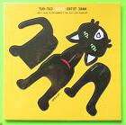 POP OUT! Art Marc Tetro Create Your Own SPIKE Cool Black Cat