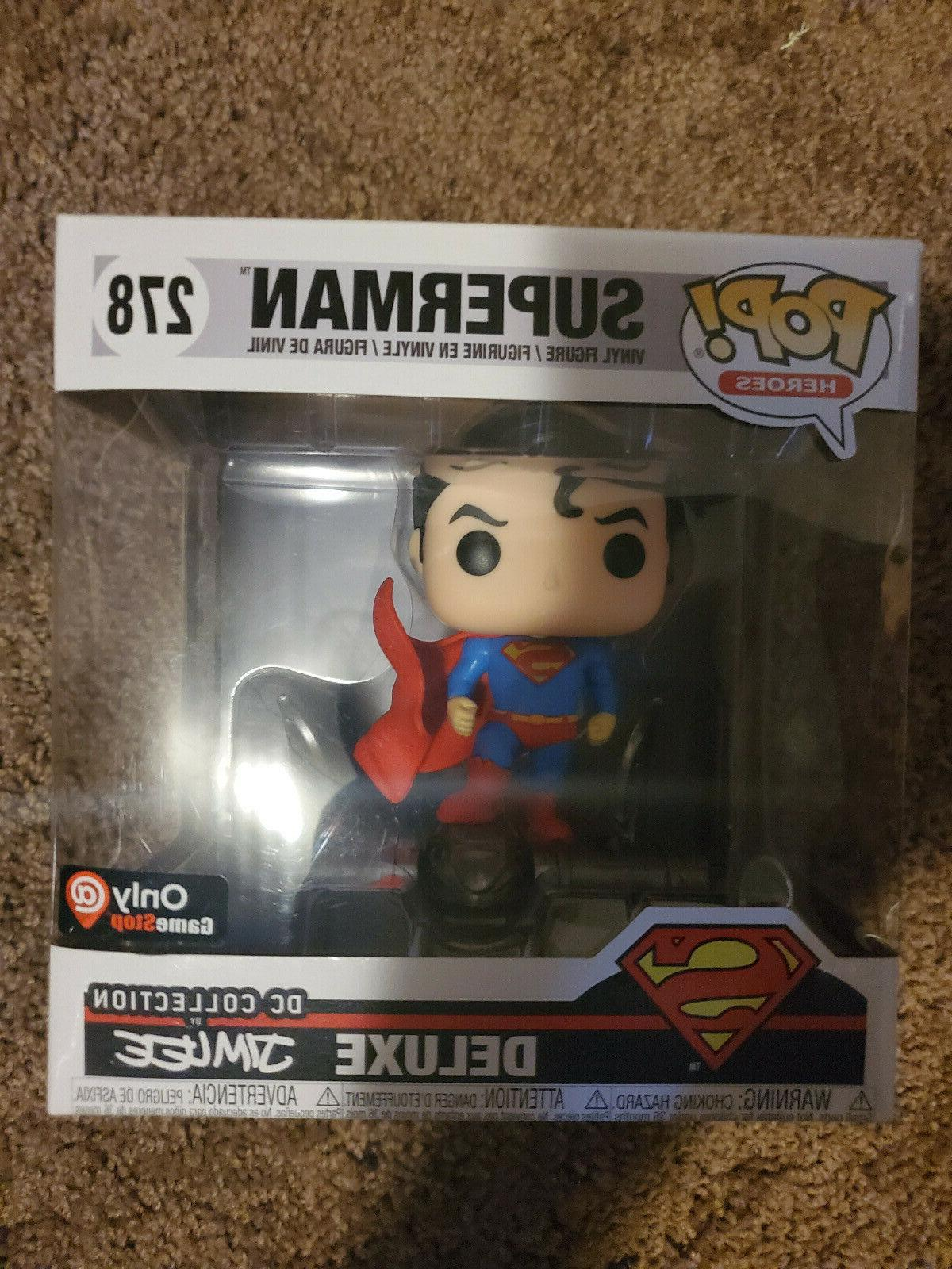 pop dc heroes deluxe superman 278 jim