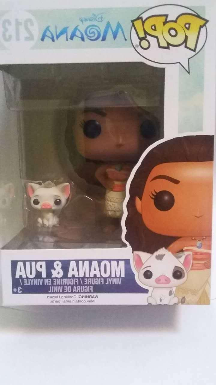 pop disney moana and pua action figure
