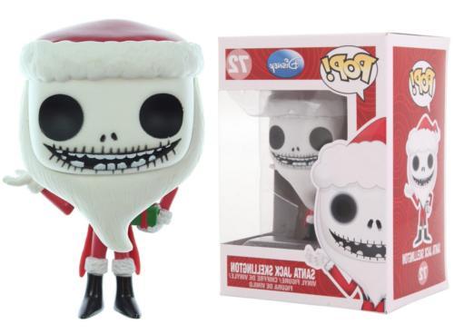 Funko Pop Disney Nightmare Before Christmas: Santa Jack Skel