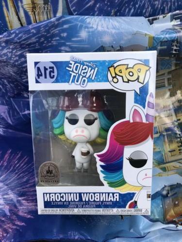 pop disney pixar inside out rainbow unicorn