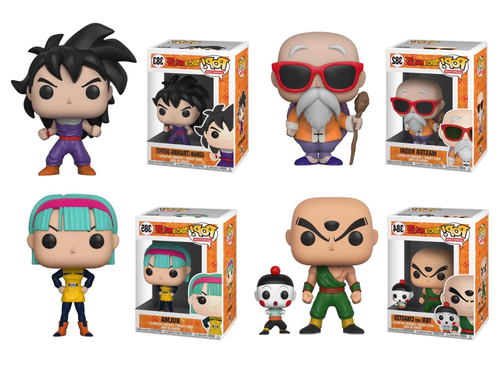 Funko Z Goku, Piccolo, Gohan, Goten Vinyl Figure 1x