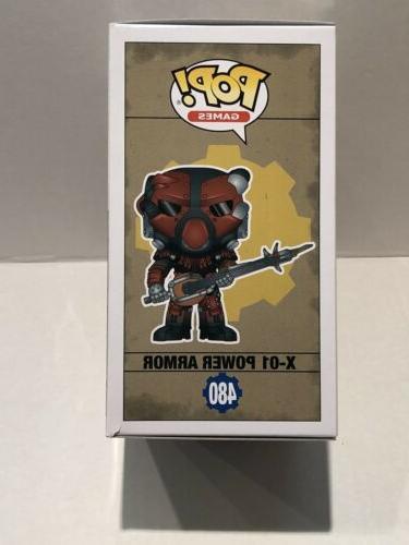 Funko POP! Fallout X-01 Gamestop Figure