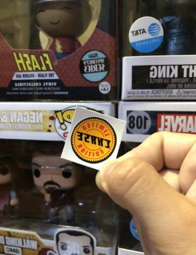 pop figure chase exclusive replacement sticker
