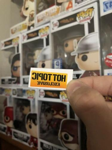 pop figure hot topic exclusive replacement sticker