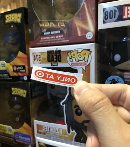 pop figure target exclusive replacement sticker 10in